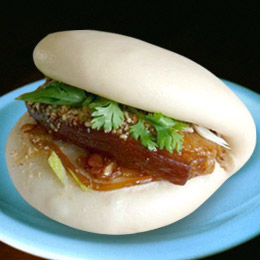 Chinese hamburger, gua bao