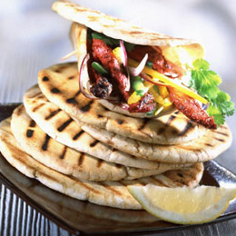 pitta bread, pita bread