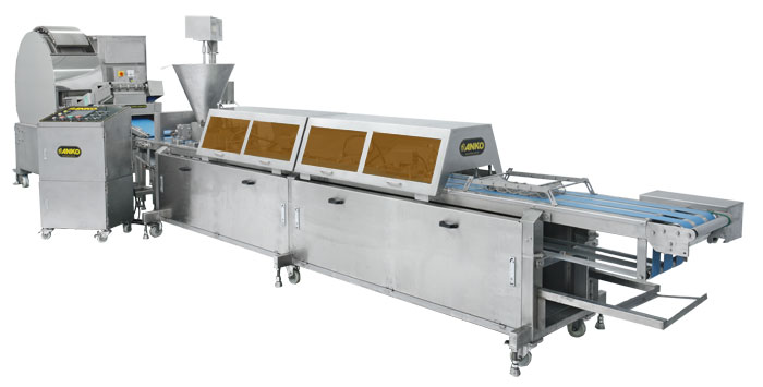 Fully automatic blini production line BN-24