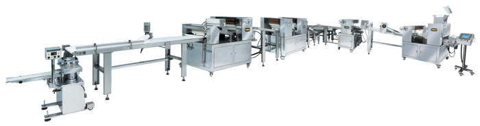 Automatic Layer & Stuffed Paratha Production Line LP-3001