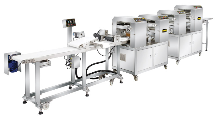 Semi-automatic Peking Duck Wrapper Production Line