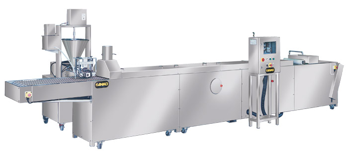 Automatic rice paper steaming & stuffing extruding machine RPS-Series