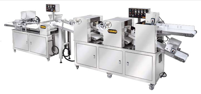 Automatic Multi Function Sheeting, Filling Rolling & Forming Production Line SB-880