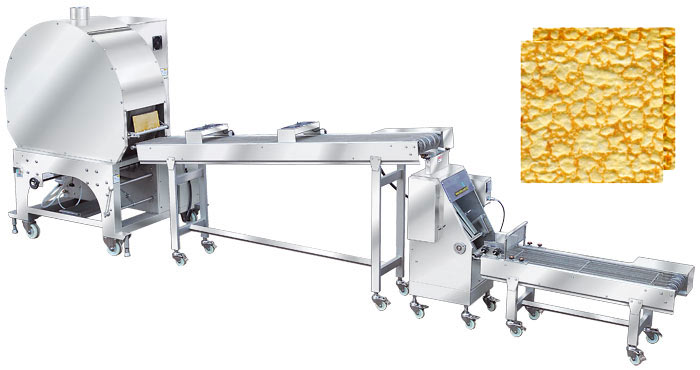 Rollo de resorte automático y Samosa Pastry Sheet Machine SPR series