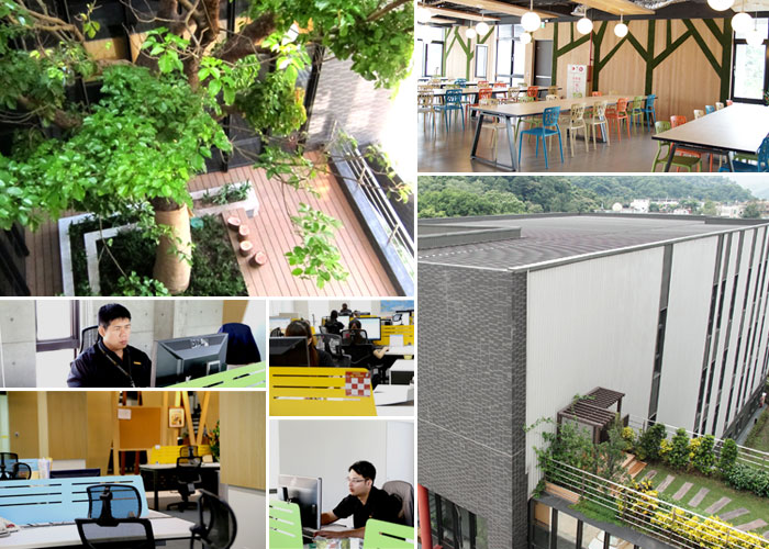 ANKO's green work environment