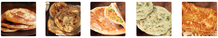 paratha, puff pastry, stuffed-paratha, green scallion pie