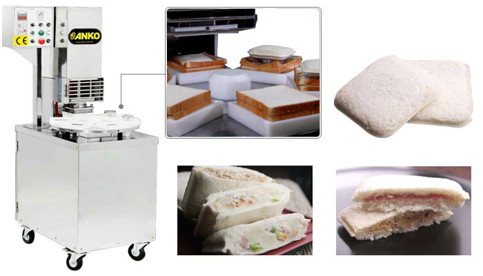 Toast sandwich, pocket sandwich machine TS-1500
