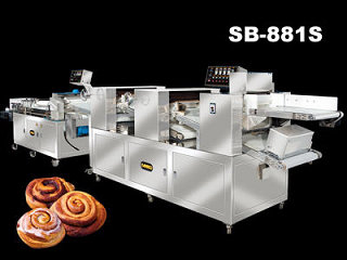 Bakery Machine - Rotolo alla cannella Equipment