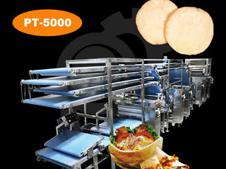 Bakery Machine - Pan de pita Equipment
