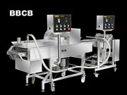 Batter & Crumb Breading Máy | Automatic Batter And Crumb Breading Production Line