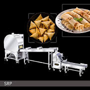 Cheese Samosa Machine | Automatic Spring Roll And Samosa Pastry Sheet Machine