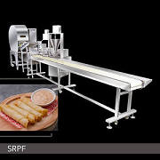 Cheese Samosa Machine | Semi-Automatic Spring Roll And Samosa Production Line