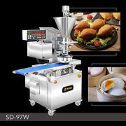 Stuffed Bread 기계 | Automatic Encrusting And Forming Machine